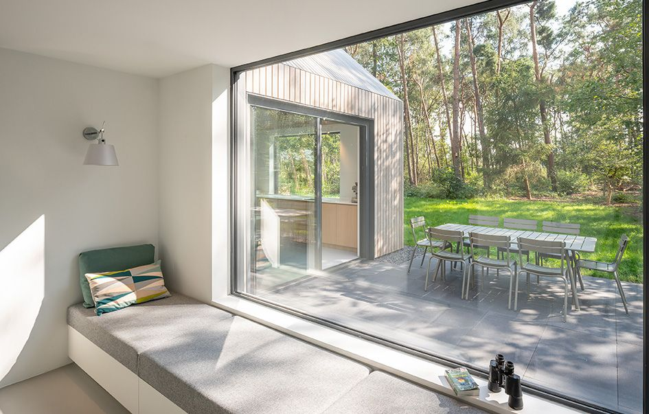 Smallspaceliving in super stylish tiny house