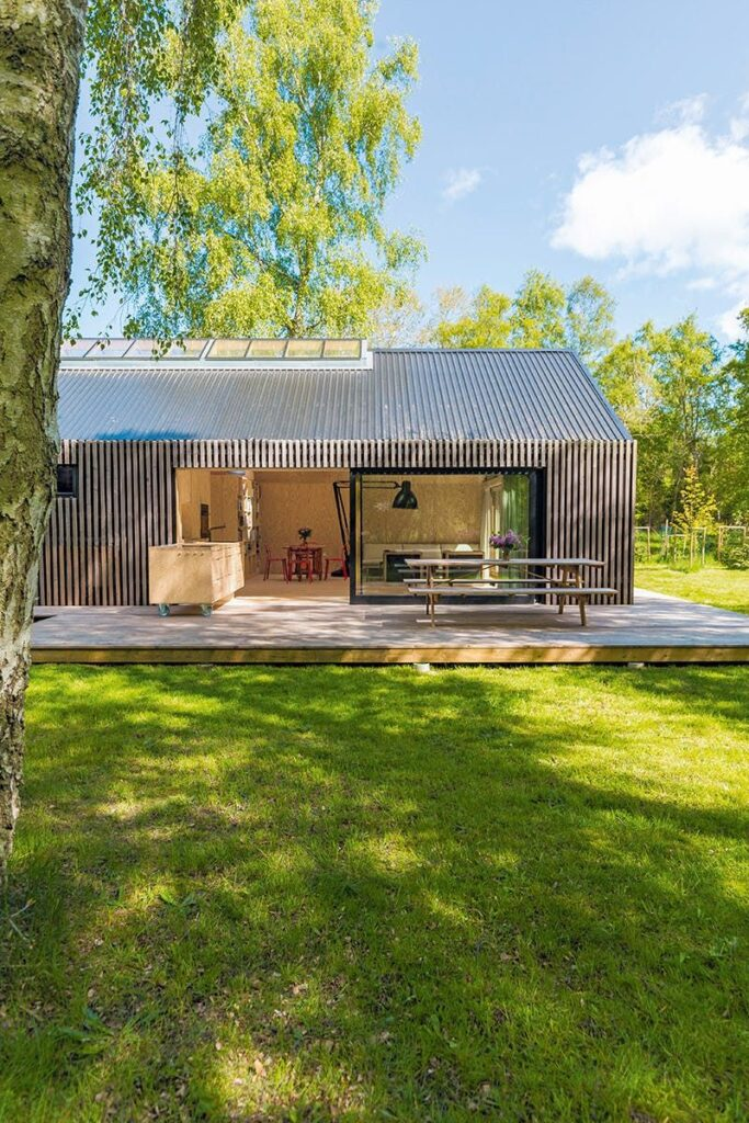 A tiny designer handmade house with smart and functional ideas